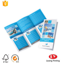 Foldable promotional advertising leaflet printing service