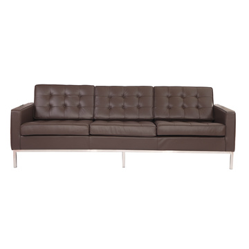 Good Quality for Adjustable Leather Sofa Replica leather knoll sofa 3 seater supply to Spain Exporter