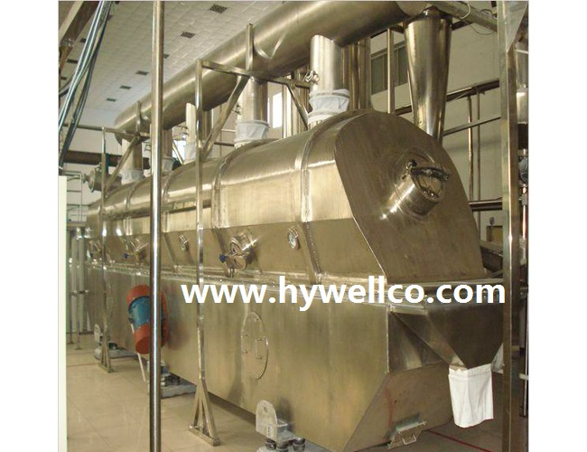 Coconut Powder Fluidizing Dryer