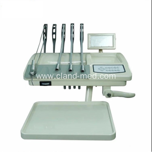 Clinical Electricity Portable Fold Dental Chair Unit