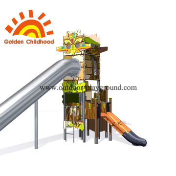 Children's Outdoor Play Towers Equipment