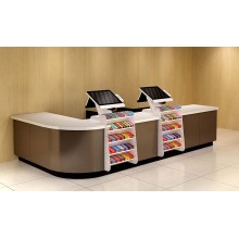 Special Design for Cash Counter High Quality Steel Checkout Counter export to Iraq Wholesale