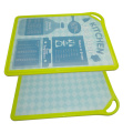 Double side use plastic Cutting chopping Board