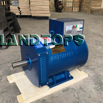 Professional factory selling for China ST Series Single Phase Alternator,Single Phase AC Generator,Single Phase Ac Dynamo Supplier 3KW ST 1 Phase AC Generator Dynamo Price export to India Factory