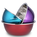 Stainless Steel Soup Basin Multicolor Mixing Bowl