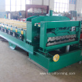 Latest double layer glazed roll forming machine