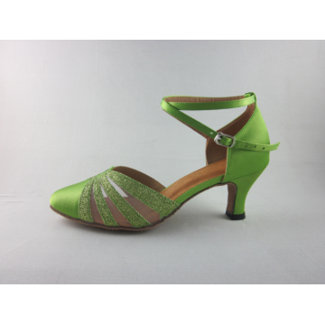Latin ballroom dancing shoes