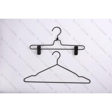 Black Powered Metal Hangers