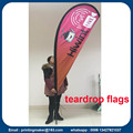 Advertising Feather and Tear Drop Flags
