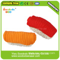 Salmon Sushi Eraser,bulk wholesale office eraser