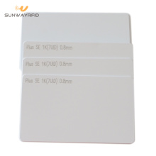 Best Price for for RFID White Card MIFARE Plus S 1K Card for Mobile Payment export to United States Manufacturers