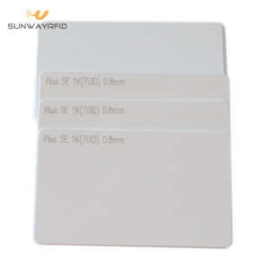 OEM Manufacturer for RFID White Card MIFARE Plus S 1K Card for Mobile Payment export to Kyrgyzstan Manufacturers