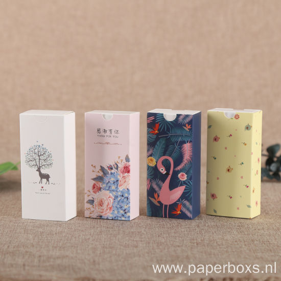 Luxury Coated Paper Lipstick Cosmetic Packaging Paper Box