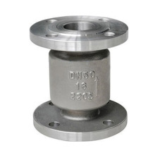 Stainless steel flanged water vertical lift check valve