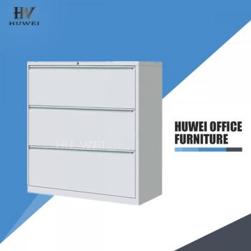 3 Drawer steel office hanging file cabinet