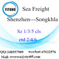 Shenzhen Port LCL Consolidation To Songkhla