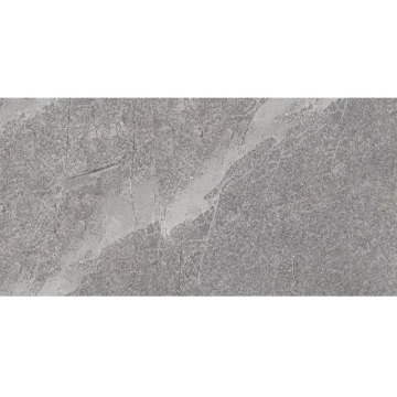 Large stone effect kitchen flooring