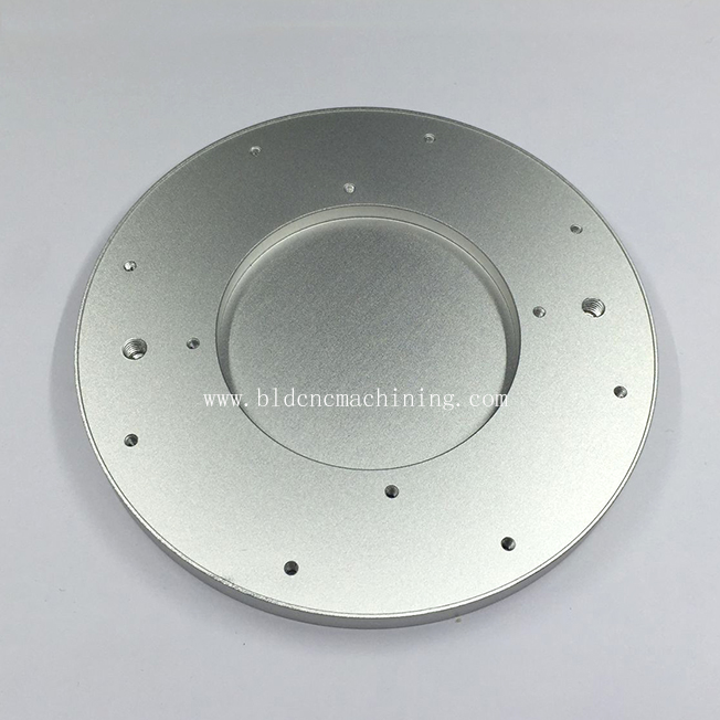 CNC turning machining aluminium plate