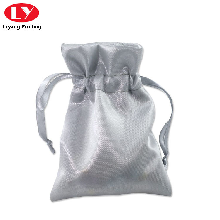 White Bag For Jewelry