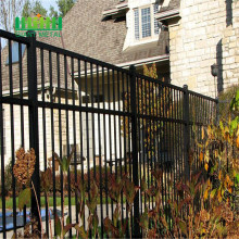 High quality zinc steel fence pvc coated fence