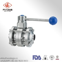 Hygienic Stainless Steel Three Pieces Butterfly Valves
