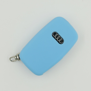 Silicone Car Key Fob Case Cover For Audi