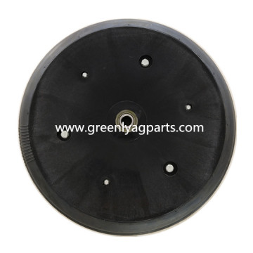814-158C Press wheel with single rib tire