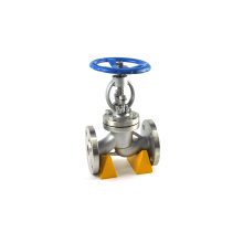 Flange type water seal steel GB manufacture globe valve dn40 supplier