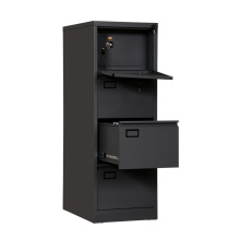 Office Metal storage File Cabinet with safe box