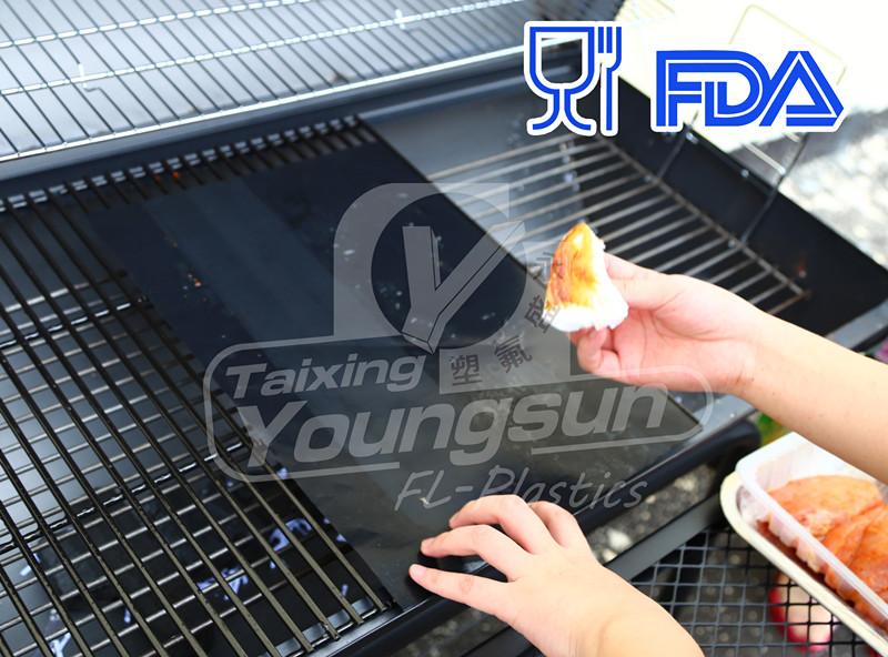 Reusable Heat Resistant Mat For BBQ