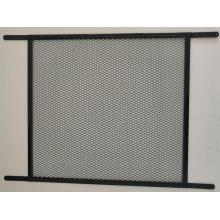 Door Grille Black Screen