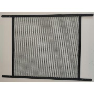 Screen Door Grille Black Color