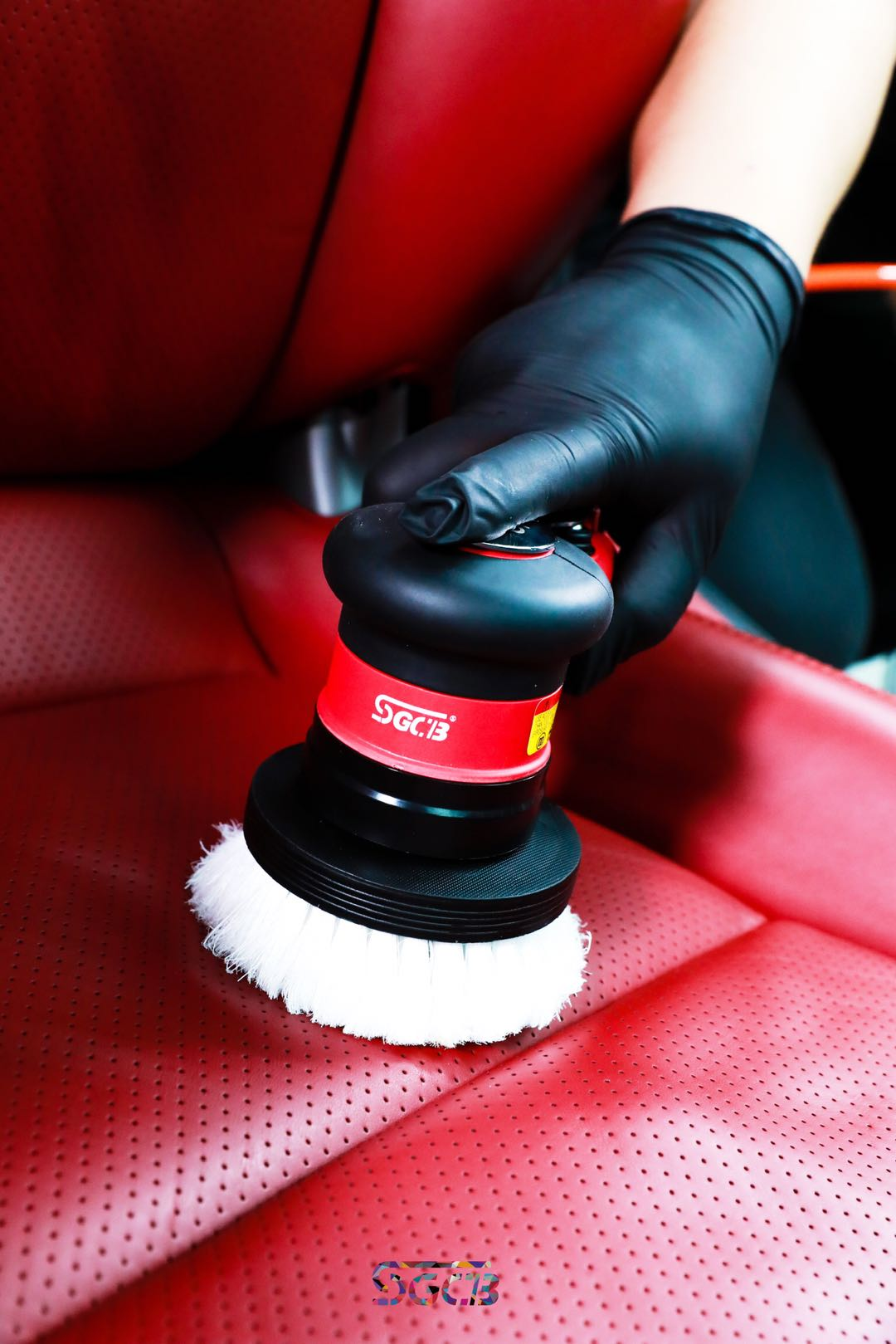 Leather Seat Brush