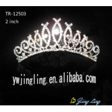 Wholesale cheap  tiara crown bridal hair accessories