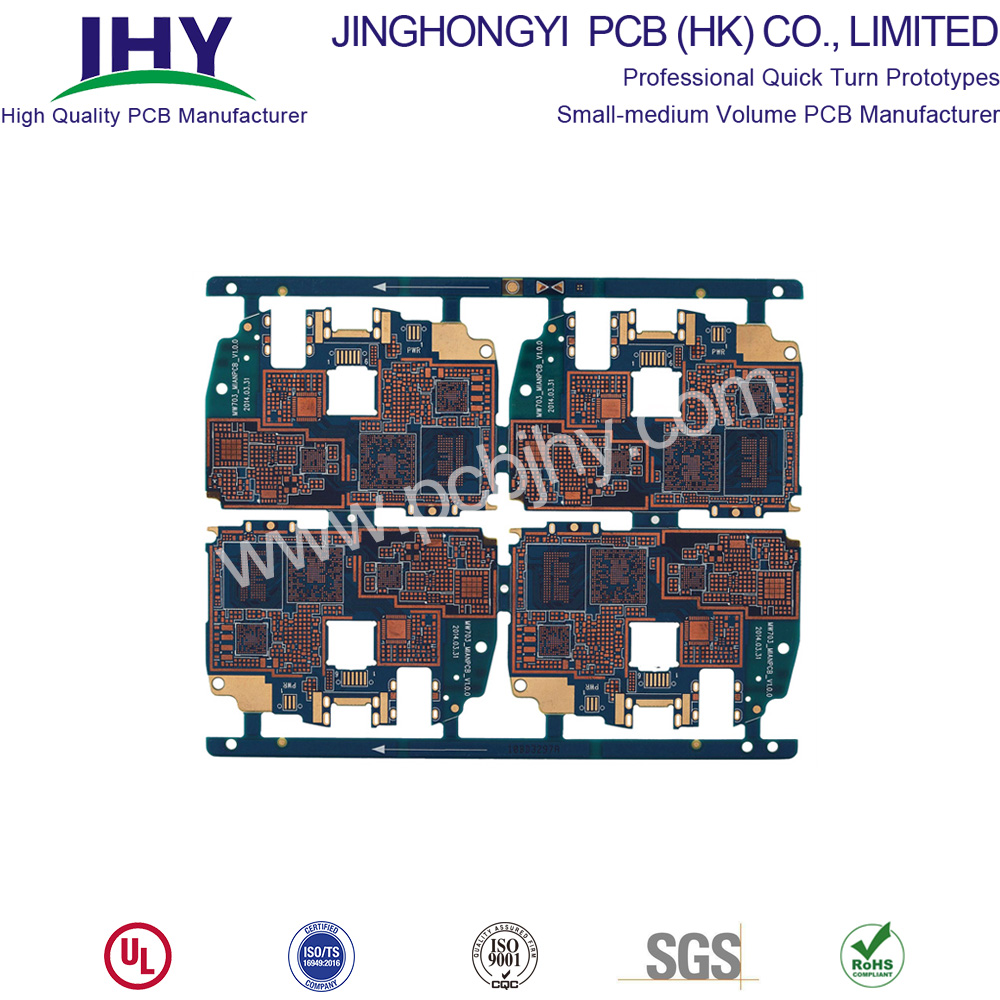 Rapid prototype circuit board fabrication