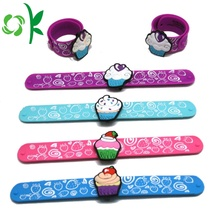 100% Original for Kids Slap Bracelet Custom Logo Silicone Snap Bracelet Silicone Slap Wristband supply to Russian Federation Suppliers