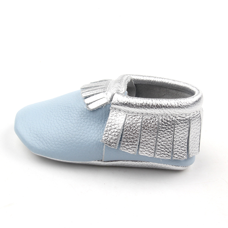 Blue Fashion Baby Moccasins Casual Shoes