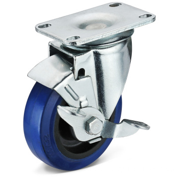 The EB Flat Bottom Side Brake Casters