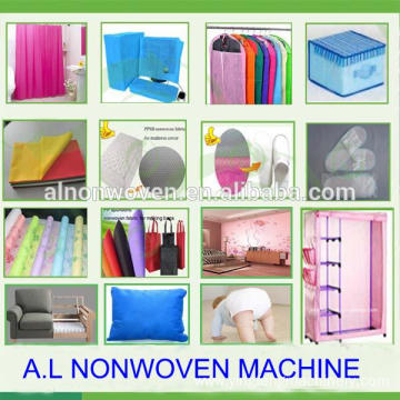 Brand new PP Spunbond nonwoven fabric making machine with great price
