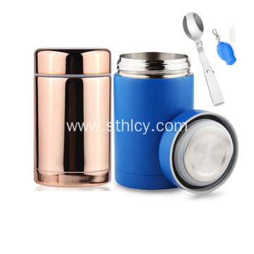 Stainless Steel Lunch Box Double-Wall Vacuum Food