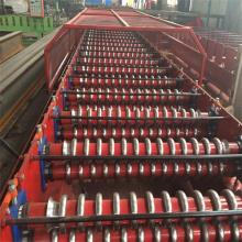 steel aluminum corrugated roll forming machine