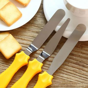 Offset Set Icing Spatula Variety Set Plastic Handle