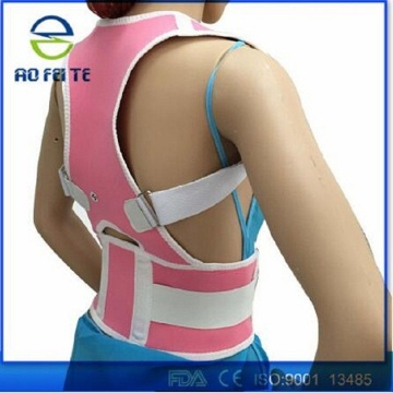 Clavicle posture corrector back support adjustable belt