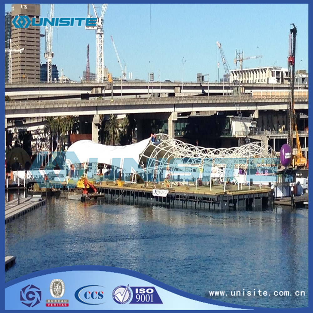 Marine Steel Floating Platforms price