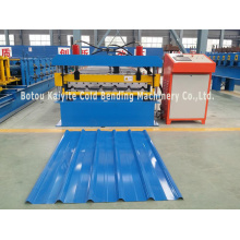 Best Quality for Trapezoidal Tile Roll Forming Machine,Metal Roof Tile Making Machine Manufacturer in China Building Structure Roofing Sheet Making Machine export to Niue Factories