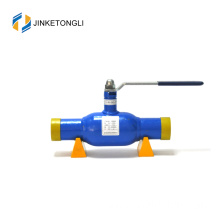 JKTL High performance district heating pipeline use maintenance free 6 inch floating ball valve stem extensions handle