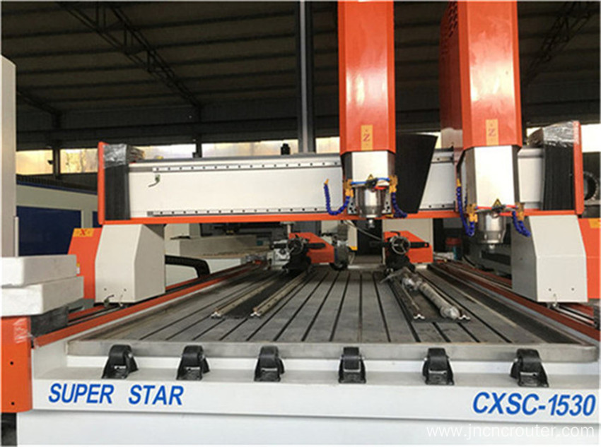 double heads stonework machine Cnc router stone