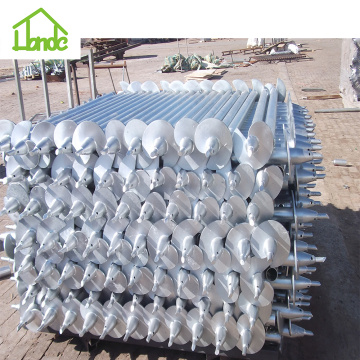 Ground Screw Foundation for Timber Foundation