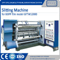 CE STANDARD BOPP film slitting machines