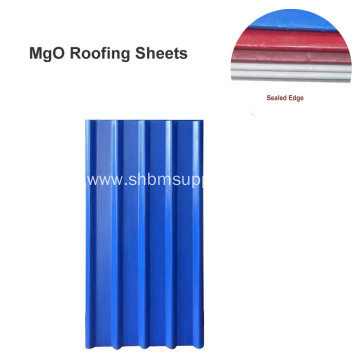 UV-Resistant Heat&Cold-Resistant PET Film MgO Roof Sheets
